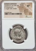 Ancients:Roman Provincial , Ancients: SYRIA. Antioch. Gordian III (AD 238-244). BItetradrachm. NGC XF....