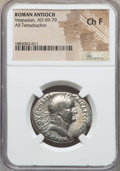Ancients:Roman Provincial , Ancients: SYRIA. Antioch. Vespasian (AD 69-79). ARtetradrachm. NGC Choice Fine....