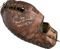Baseball Collectibles:Others, 1995 George H.W. Bush Signed Glove. ...