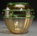 Art Glass:Other , A Loetz-Style Blown Glass Vase, 20th century. 6-7/8 inches high (17.5 cm). ...