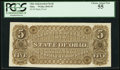 Obsoletes By State:Ohio, (Unknown), OH - Ohio Independent Bank $5 Back Proof Wolka 2042-05....