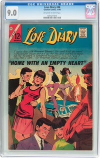 Love Diary #46 (Charlton, 1966) CGC VF/NM 9.0 Off-white to white pages