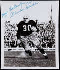 Football Collectibles:Photos, Clarke Hinkle Signed Photograph....