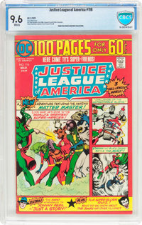 Justice League of America #116 (DC, 1975) CBCS NM+ 9.6 White pages