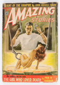 Pulps:Science Fiction, Amazing Stories V26#9 (Ziff-Davis, 1952) Condition: VG....