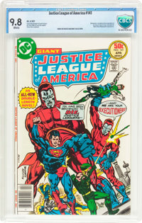 Justice League of America #141 (DC, 1977) CBCS NM/MT 9.8 White pages