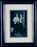 Autographs:Photos, Circa 1980 Mickey Mantle & Billy Martin Signed Photograph. ...