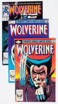 Modern Age (1980-Present):Superhero, Wolverine Group of 29 (Marvel, 1982-98) Condition: Average VF....(Total: 29 Comic Books)