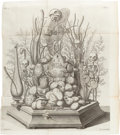 Books:Medicine, Frederick Ruysch. Thesaurus Anatomicus... Amsterdam:1721-1729. Early Latin reprint of this fascinating catalogu...