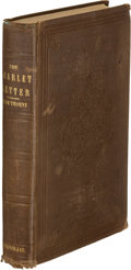Books:Literature Pre-1900, Nathaniel Hawthorne. The Scarlet Letter, A Romance.Boston: Ticknor, Reed, and Fields, 1850. First editi...