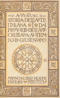 Books:Art & Architecture, A[dolfo] Venturi. Storia Dell'Arte Italiana. Milan: UlricoHoepli, 1901-1940. First edition.... (Total: 25 Items)