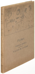 Books:Literature 1900-up, Pamela Bianco and Walter De La Mare. Flora. London: [circa1919]. First edition. In the rare dust jacket....