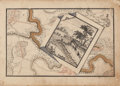 Books:World History, G. B. Franz. Sketchbook Depicting Illustrations and Maps of Europe. Circa 1777....