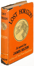 Books:Science Fiction & Fantasy, James Hilton. Lost Horizon. New York: 1933. First U. S.edition....