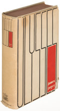 Books:Literature 1900-up, James Joyce. Ulysses. New York: 1934. First U. S. edition....