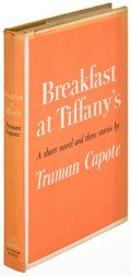 Books:Literature 1900-up, Truman Capote. Breakfast at Tiffany's. New York: [1958].First edition....