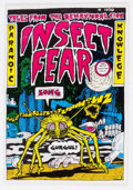 Bronze Age (1970-1979):Alternative/Underground, Insect Fear #1 (Print Mint, 1970) Condition: FN+....