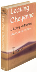 Books:Literature 1900-up, Larry McMurtry. Leaving Cheyenne. New York: [1963]. Firstedition, signed....