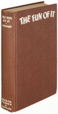 Books:Biography & Memoir, Amelia Earhart. The Fun of It. New York: 1932. Firstedition, signed....
