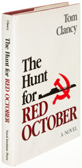 Books:Literature 1900-up, Tom Clancy. The Hunt for Red October. Annapolis: 1984. Firstedition, signed....