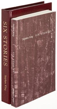 Stephen King. Six Stories. Bangor: 1997. First edition, limited to 1,100 copies and signed