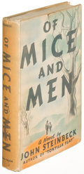 Books:Literature 1900-up, John Steinbeck. Of Mice and Men. New York: [1937]. Firstedition. ...
