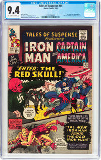 Tales of Suspense #65 (Marvel, 1965) CGC NM 9.4 Off-white to white pages
