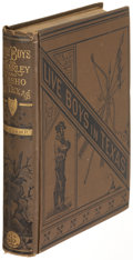 Books:Americana & American History, Arthur Morecamp. Live Boys: Or Charley and Nasho inTexas. Boston and New York: [1878]. First edition. ...