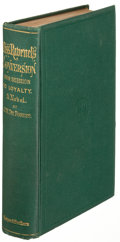Books:Literature 1900-up, J. W. de Forest. Miss Ravenel's Conversion from Secession toLoyalty. New York: 1867. First edition....