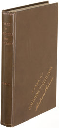 Books:Literature Pre-1900, Ambrose Bierce. Tales of Soldiers and Civilians. SanFrancisco: 1891. First edition....