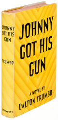 Books:Literature 1900-up, Dalton Trumbo. Johnny Got His Gun. New York: [1939]. First edition....