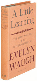 Books:Literature 1900-up, Evelyn Waugh. A Little Learning: The First Volume of anAutobiography. [London]: 1964. First edition, signed...