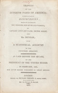 Books:Americana & American History, [Lewis and Clark]. Meriwether Lewis and William Clark. Travelsin the Interior Parts of America; Communicating Dis...