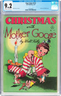 Golden Age (1938-1955):Miscellaneous, Four Color #172 Christmas with Mother Goose (Dell, 1947) CGC NM- 9.2 Off-white to white pages....