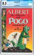 Golden Age (1938-1955):Funny Animal, Four Color #148 Albert the Alligator and Pogo Possum (Dell, 1947)CGC VF+ 8.5 Off-white to white pages....