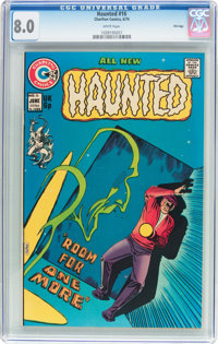 Haunted #16 File Copy (Charlton, 1974) CGC VF 8.0 White pages