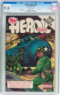 Golden Age (1938-1955):Non-Fiction, Heroic Comics #76 (Eastern Color, 1952) CGC VF/NM 9.0 Off-whitepages....