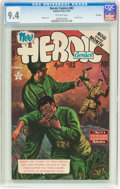 Golden Age (1938-1955):War, Heroic Comics #82 File Copy (Eastern Color, 1953) CGC NM 9.4Off-white pages....