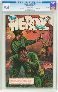Heroic Comics #82 File Copy (Eastern Color, 1953) CGC NM 9.4 Off-white pages