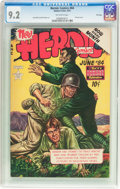 Golden Age (1938-1955):War, Heroic Comics #84 File Copy (Eastern Color, 1953) CGC NM- 9.2 Off-white pages....