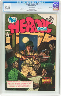 Heroic Comics #85 File Copy (Eastern Color, 1953) CGC VF+ 8.5 Off-white pages