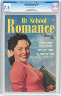 Golden Age (1938-1955):Romance, Hi-School Romance #2 File Copy (Harvey, 1949) CGC VF- 7.5 Cream tooff-white pages....
