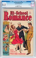Golden Age (1938-1955):Romance, Hi-School Romance #9 File Copy (Harvey, 1951) CGC VF+ 8.5 Light tanto off-white pages....