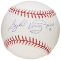"Autographs:Baseballs, Gaylord Perry ""HOF 91"" Single Signed Baseball. ..."