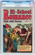 Golden Age (1938-1955):Romance, Hi-School Romance #20 File Copy (Harvey, 1953) CGC VF 8.0 Light tanto off-white pages....