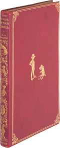 "Books:Children's Books, A. A. Milne. The House at Pooh Corner. London: Methuen &Co., [1928]. First trade edition of the last ""Pooh"" boo..."