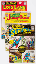 Silver Age (1956-1969):Superhero, 80 Page Giant #1-15 Group (DC, 1964-65) Condition: Average GD.... (Total: 15 Comic Books)