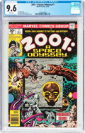 Bronze Age (1970-1979):Science Fiction, 2001: A Space Odyssey #1 (Marvel, 1976) CGC NM+ 9.6 White pages....