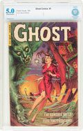 Golden Age (1938-1955):Horror, Ghost #1 (Fiction House, 1951) CBCS VG/FN 5.0 Off-white to whitepages....