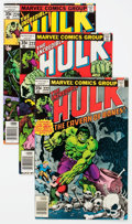 Modern Age (1980-Present):Superhero, The Incredible Hulk Group of 77 (Marvel, 1978-84) Condition:Average VF/NM.... (Total: 77 Comic Books)